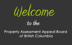Welcome to the Property Assessment Appeal Board